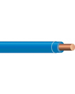 COPPER TFN SOLID - 18 AWG BLUE 500'