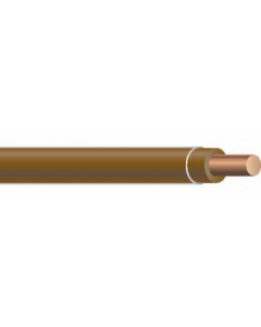 COPPER TFN SOLID - 18 AWG BROWN 500'