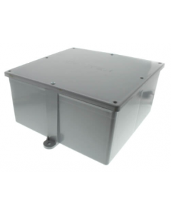 "PVC JUNCTION BOX - 12"" X 12"" X 6"""