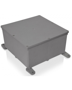 "PVC JUNCTION BOX - 8"" X 8"" X 4"""