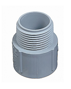 PVC TERMINAL ADAPTER MALE - 3/4""