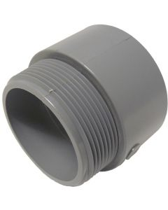 PVC TERMINAL ADAPTER MALE - 4""