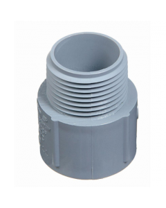 """PVC TERMINAL ADAPTER MALE - 1"""""""