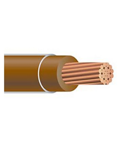 COPPER THHN STRANDED - 300 MCM BROWN 2500'